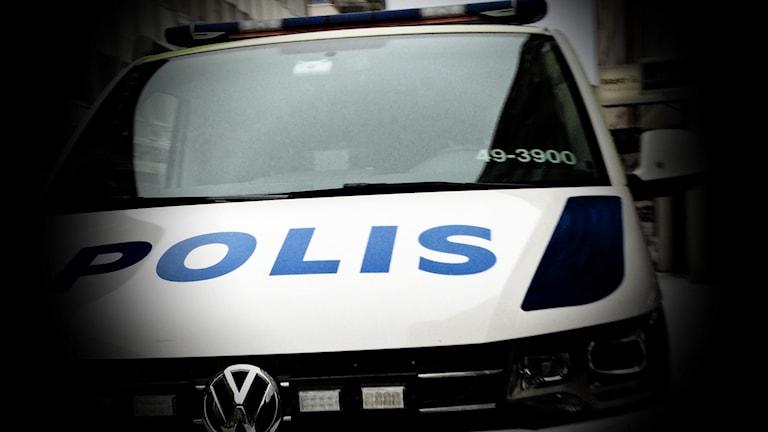 Polisbil. Arkivbild, foto: David Westh/Sveriges Radio