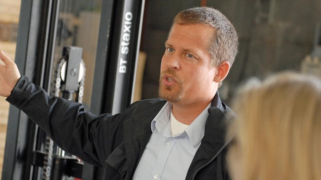 Henning Holmström. Pressbild Tasman metals