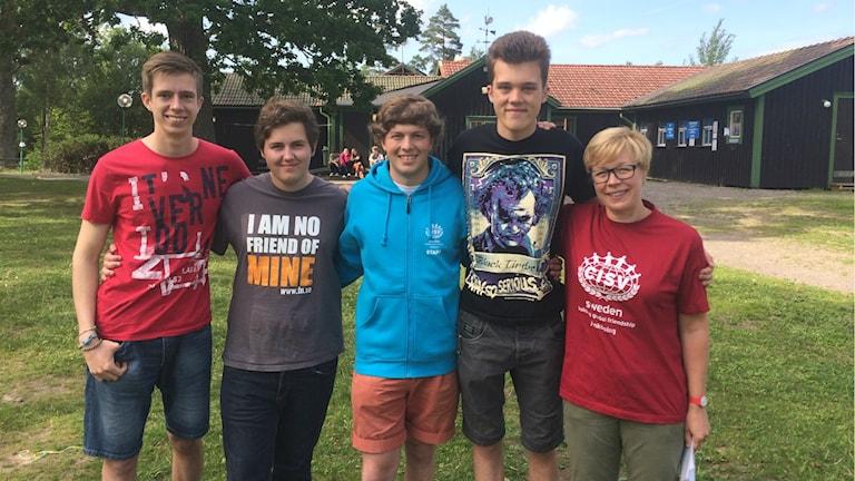 Ungdomar från hela världen möts i Jönköping. Foto: Toni Galic