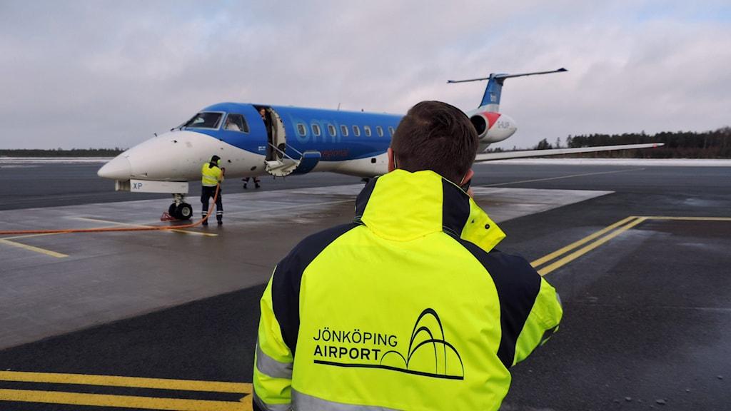 Jönköpings airport. Pressbild
