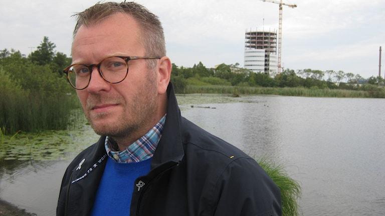 Andreas Sturesson (KD), kommunalråd i Jönköpings kommun. Foto: Dan Segerson/Sveriges Radio