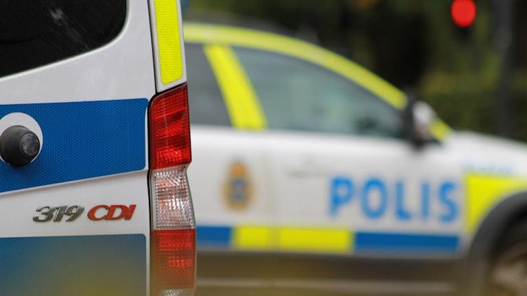 Poliser. Foto: David Westh/Sveriges Radio