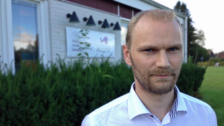 Mikael Andersson, Kognic Lövängen. Foto: Lennart Broman/Sveriges Radio