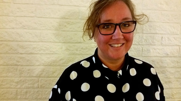 Mia Frisk. Foto: Therese Edin/Sveriges Radio