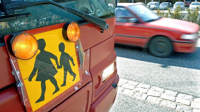 Skolbuss. Foto: Gunnar Lundmark/SvD/TT