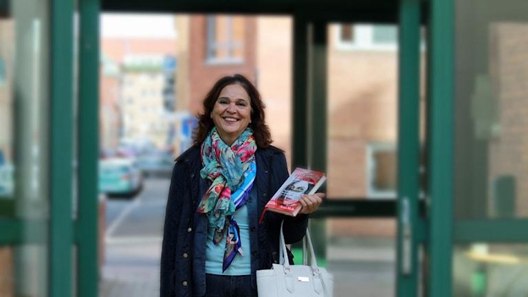 """Anna Melle med """"Mariam - hederskvinnorna"""". Foto: David Westh/Sveriges Radio"""