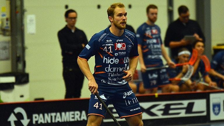 Isaac Rosén, Mullsjö (Foto: Henrik Gustavsson/Sverigesradio)