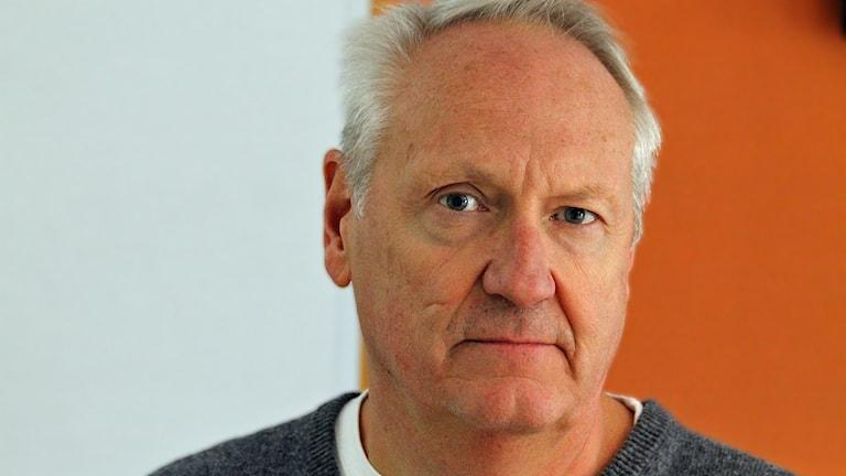 Johan Frisk, polisen. Foto: David Westh/Sveriges Radio