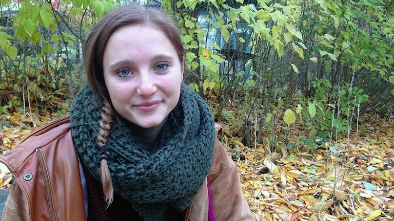 Sofia Dorotea Svensson. Foto: Jessica Sonelius/Sveriges Radio