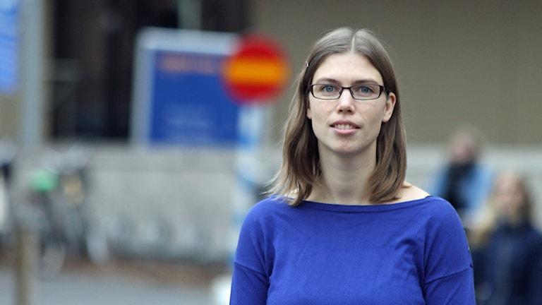 Therese Sandberg, Smålandsidrotten. Foto: David Westh/Sveriges Radio