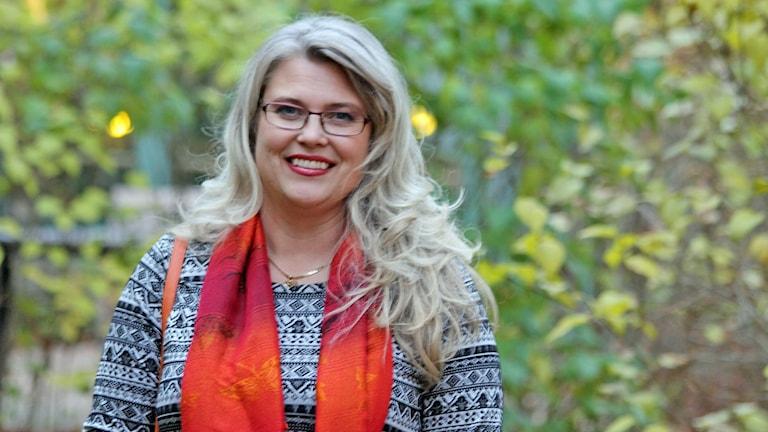 Ingela Bergmo-Prvulovic. Foto: David Westh/Sveriges Radio