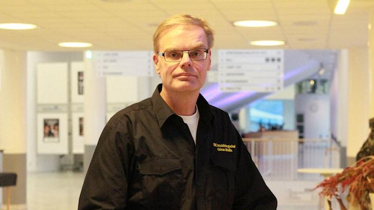 Göran Melin ställföreträdande räddningschef i Jönköping. Foto: Tommy Alexandersson / Sverigesradio