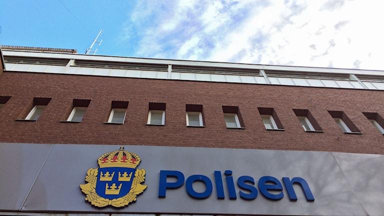 Polishuset Jönköping. Foto: David Westh/Sveriges Radio