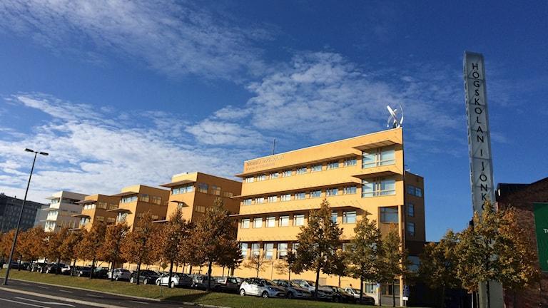 Högskolan i Jönköping. Foto: David Westh/Sveriges Radio