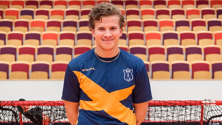 Jonathan Larsson, Mullsjö AIS. Foto: Mullsjoais.se/Richard Axell
