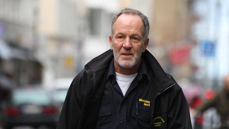 Gert Kvick, säkerhetssamordnare Jönköpings kommun. Foto: David Westh/Sveriges Radio