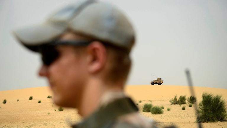 FN-styrkan i Mali. Foto: Henrik Montgomery/TT