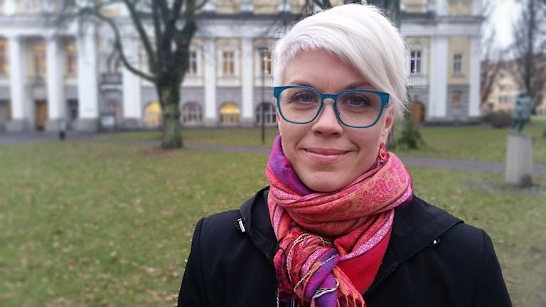 Karin Hermansson. Foto: Therese Edin/Sveriges Radio