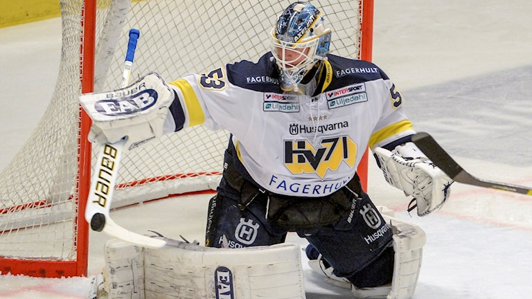 Fredrik Pettersson Wentzel, HV71. Foto: Janerik Henriksson/TT