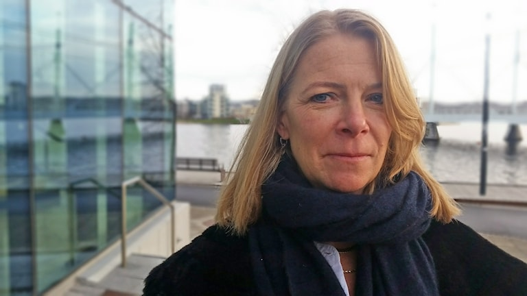 Ia Sveger, advokat och målsägandebiträde. Foto: Therese Edin/Sveriges Radio
