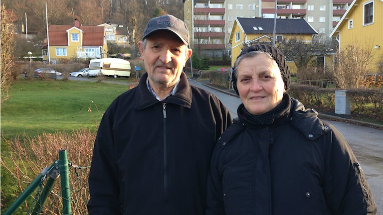 Stefan Taiti och Anna Taiti. Foto: Lennart Broman/Sveriges Radio