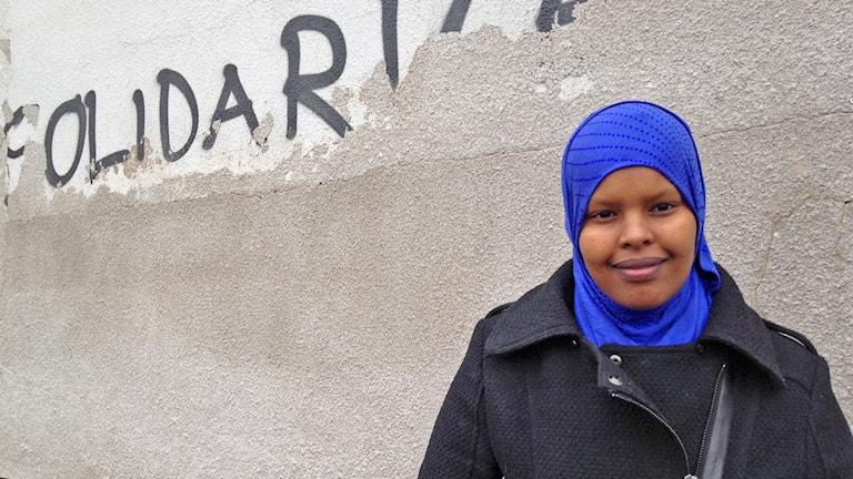 Igran Hussein. Foto: Anna Cassel/Sveriges Radio