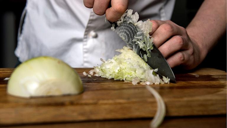 Kock i restaurang. Foto: Pontus Lundahl/TT