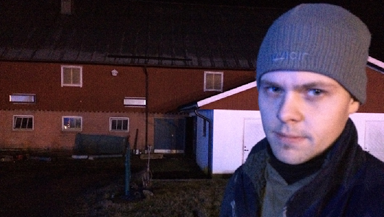 Jonny Mattsson. Foto: Rebecka Montelius/Sveriges Radio