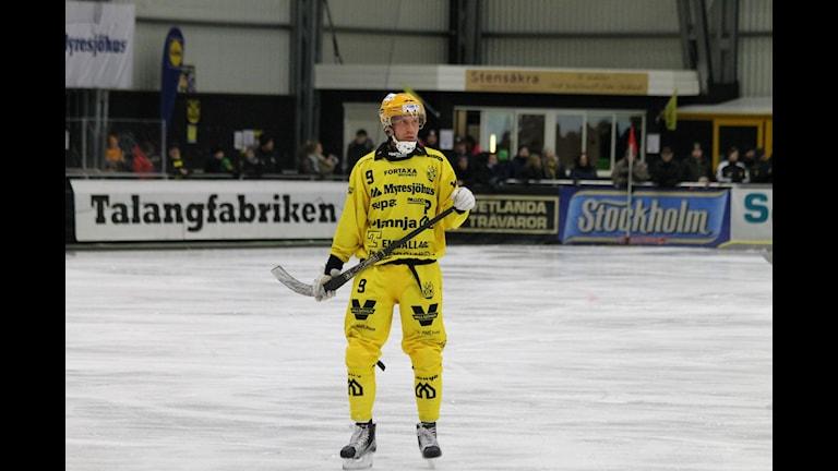 Vetlandas Philip Lennartsson. Foto: Patrik Bromander/Sveriges Radio
