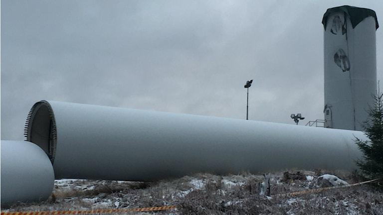 Haverikommisionen utreder vindkraftsraset. Foto: Kjell Ahlkvist/Sveriges Radio
