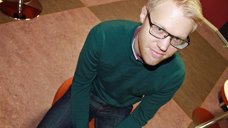 Gustav Enander, Länsstyrelsen. Foto: David Westh/Sveriges Radio