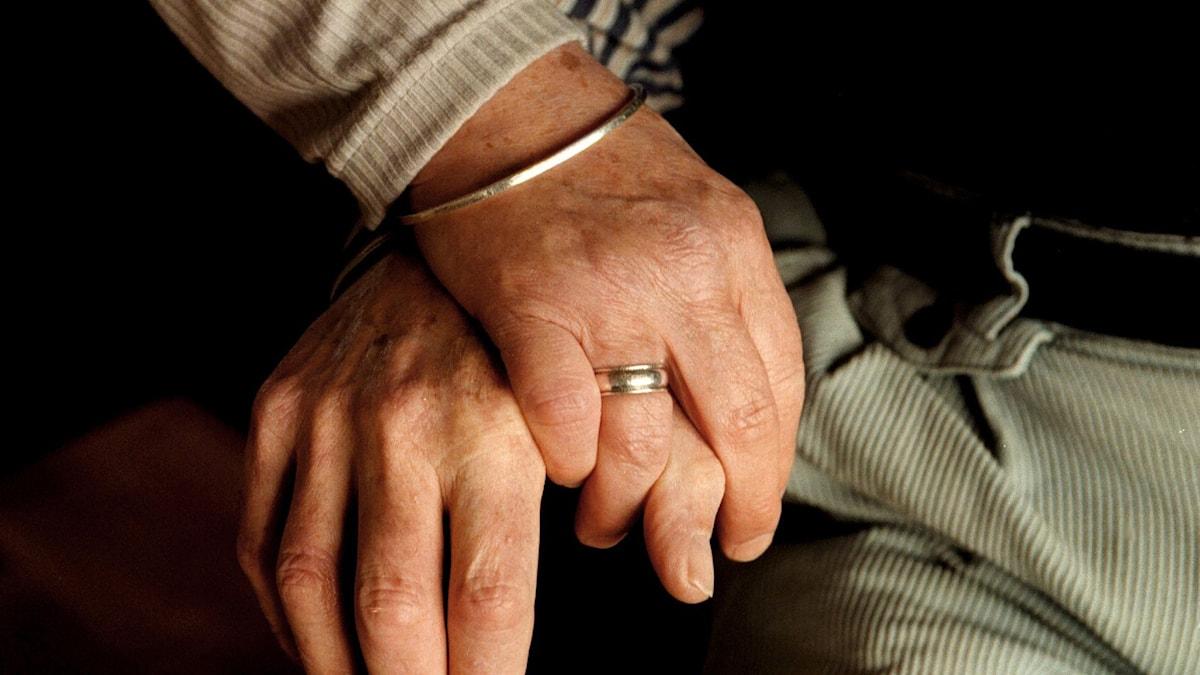 Tutkimusten mukaan avioliitto on menettänyt merkitystään. Foto: Jan Forsman/TT