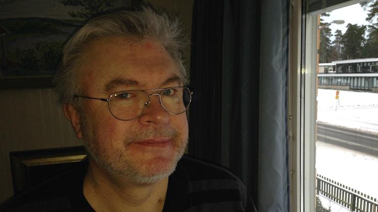 Bo Liljekvist, fackombud på bussbolaget Keolis i Jönköping. Foto: Lennart Broman/Sveriges Radio.