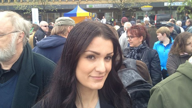 Azra Muranovic kom till Sverige som liten. Foto: Rebecka Montelius/Sveriges Radio