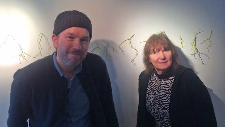 Magnus Lundberg och Kristina Gadh. Foto: Ulla Strängberg/Sveriges Radio
