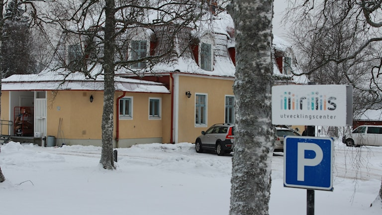 Iris utvecklingscenter i Mullsjö där Sebastian dog. Foto: Tommy Alexandersson/Sveriges Radio