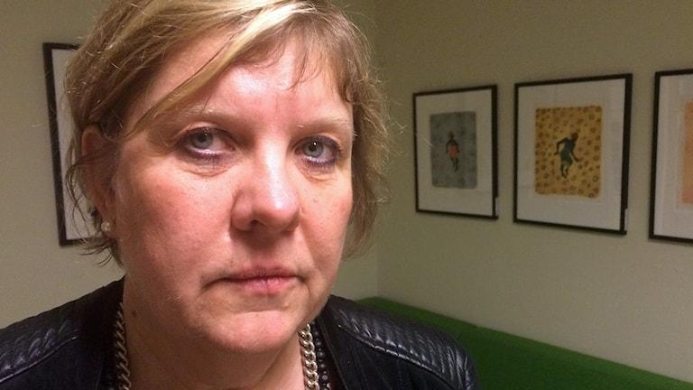 Cecilia Grefve. Foto: Rebecka Montelius/Sveriges Radio