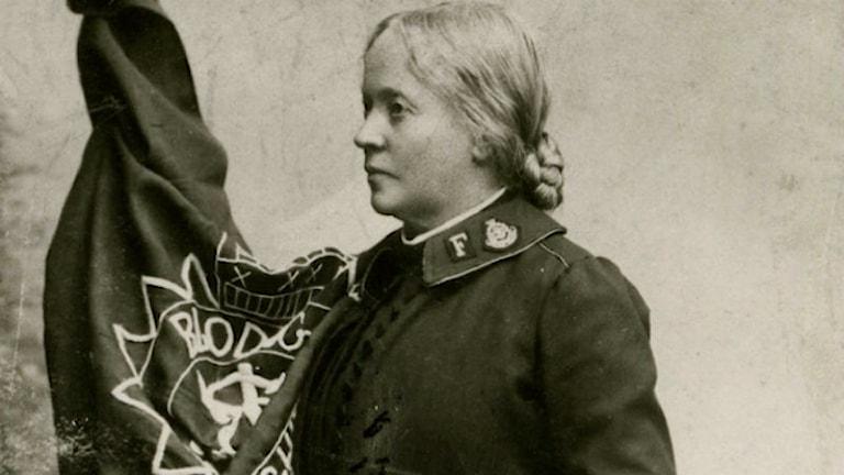 Hanna Ouchterlony. Ur Frälsningsarméns arkiv.