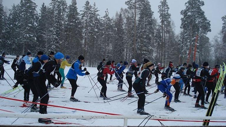Rallarloppet. Foto: Rebecka Montelius/Sveriges Radio