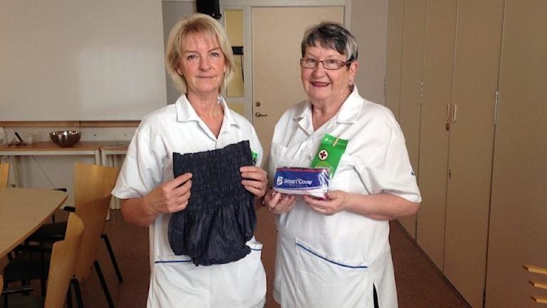 Britt-Marie Fredriksson och Kristina Samuelsson