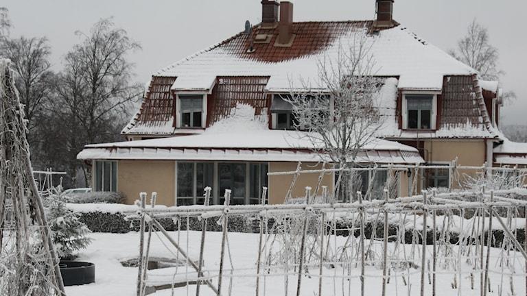 Iris utvecklingscenter i Mullsjö där Sebastian dog. Foto Tommy Alexandersson/Sveriges Radio