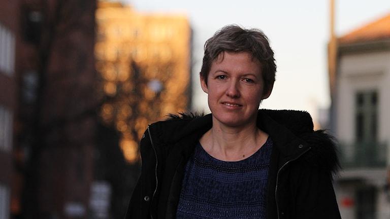 Emma Hultman. Foto: David Westh/Sveriges Radio