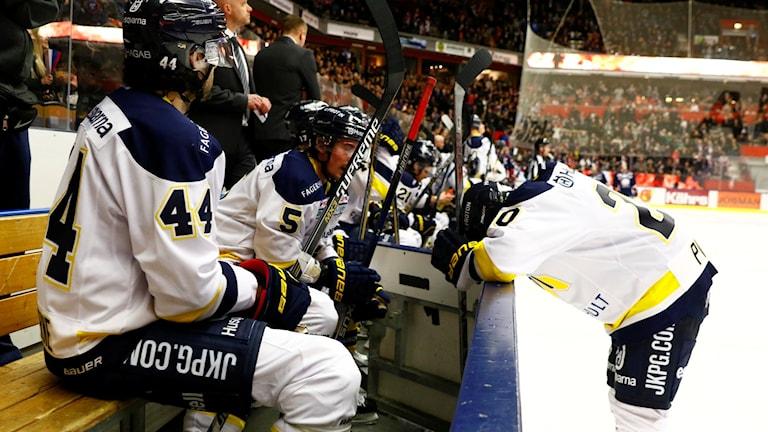 HV71-depp. Foto: Stefan Jerrevång/TT