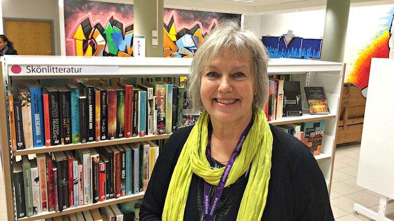 Ingrid Ahlbom, bibliotekarie i Jönköping.
