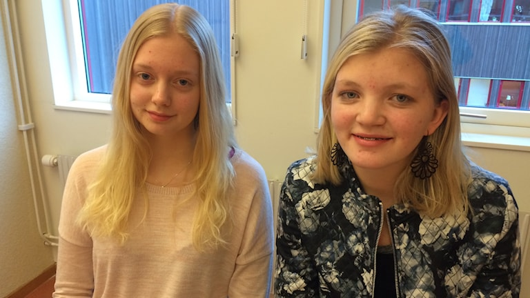 Amanda Karlsson och Alma Gard