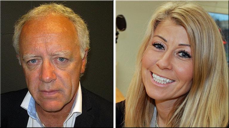 Anders Wilander och Malin Wengholm.