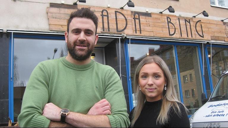 David Zeren och Natalie Åström