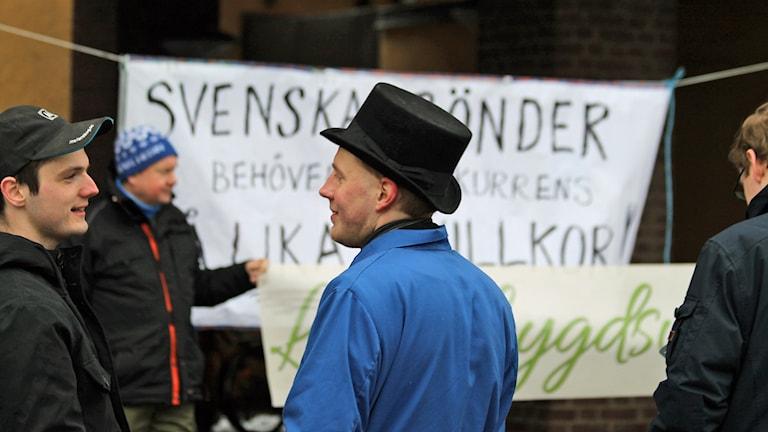 Bondeupproret i Jönköping.