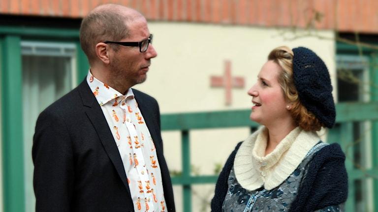 Kaj Granath och Martina Boström.