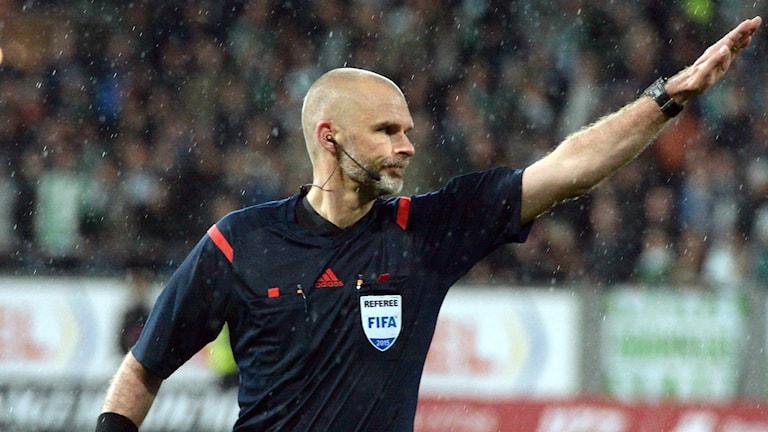 Michael Lerjéus, allsvensk fotbollsdomare.